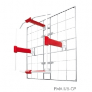 FM eight field CP antenna panels